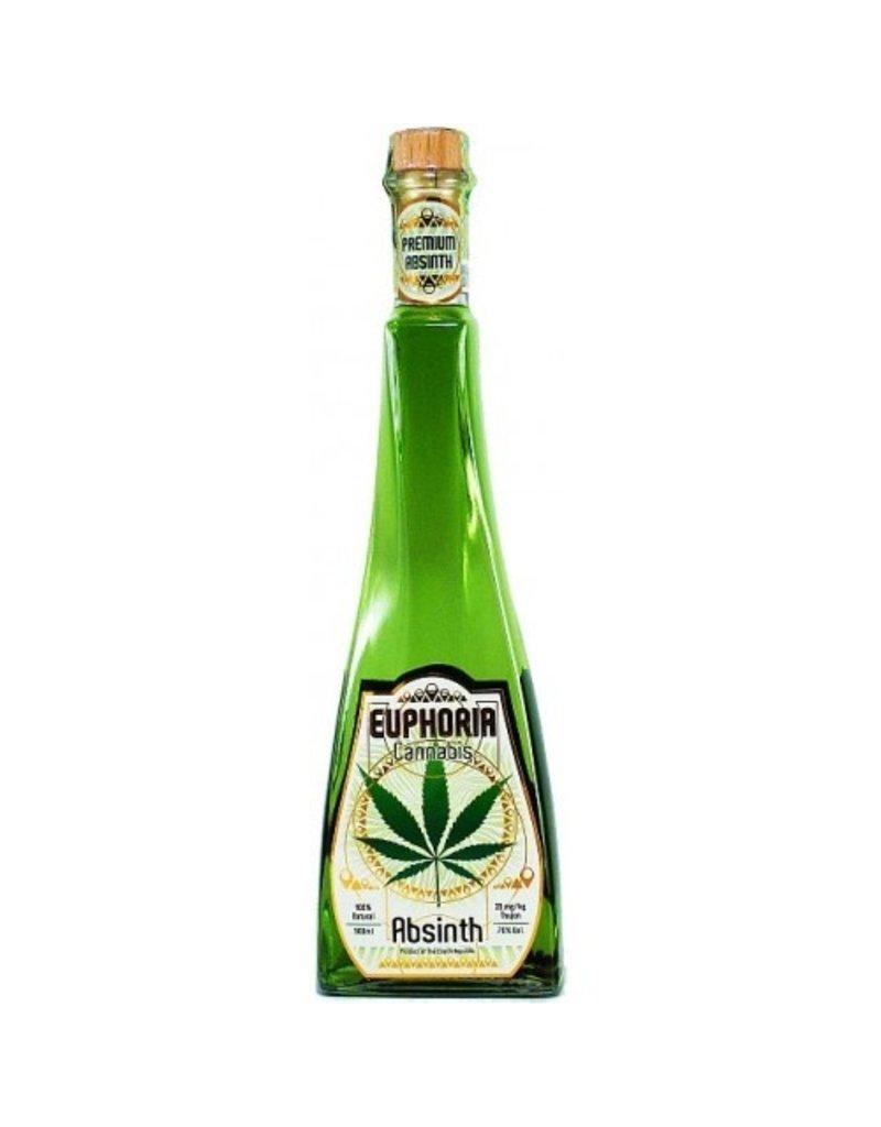 Euphoria Cannabis Absinth 0 5 Liter Luxurious Drinks