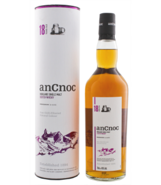An Cnoc An Cnoc 18YO Non Chill Filtered Single Malt Scotch Whisky 0,7L -GB-