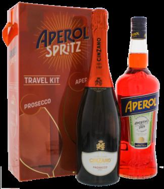 Aperol Aperol Spritz Set (Aperol 1,0L + Cinzano Prosecco 0,75L)