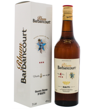 Barbancourt Barbancourt Three Star 4YO 0,7L -GB-