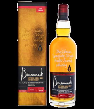 Benromach Benromach Cask Strength 2008/2019 Batch 1 Single Malt Scotch Whisky 0,7L -GB-