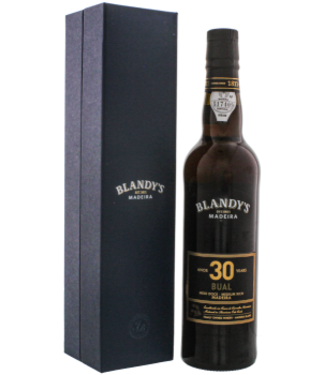 Blandys Blandys Madeira Bual 30YO Medium Rich 0,5L -GB-