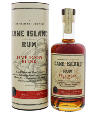 Cane Cane Island Five Icon Blend Rum 0,7L -GB-