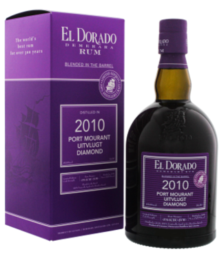 El Dorado El Dorado Rum Blended in the Barrel 2010/2019 Port Mourant Uitvlugt Diamond Limited Ed. 0,7L -GB-