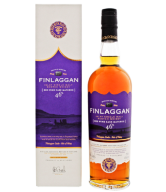 Finlaggan Finlaggan Red Wine Cask Matured Small Batch Release Single Malt Scotch Whisky 0,7L -GB-