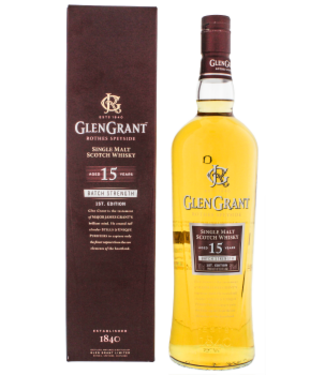 Glen Grant Glen Grant 15YO Batch Strength 1st Edition 2004/2019 Single Malt Scotch Whisky 1,0L -GB-