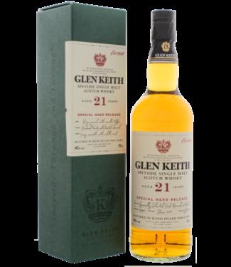 Glen Keith Glen Keith 21YO Special Aged Release Speyside Single Malt Scotch Whisky 0,7L -GB-