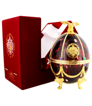 Imperial Collection Imperial Collection Vodka Faberge Ei 0,7L Bordeaux Rot -GB-