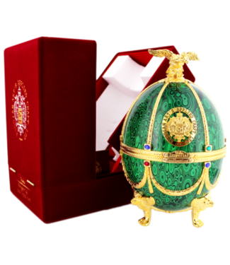 Imperial Collection Imperial Collection Vodka Faberge Ei 0,7L Grün -GB-