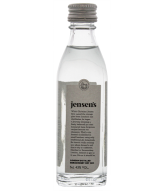 Jensens Jensens Bermondsey Gin Miniatures 0,05L