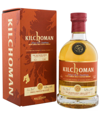 Kilchoman Kilchoman The Netherlands Small Batch No. 1 Islay Single Malt Scotch Whisky 0,7L -GB-