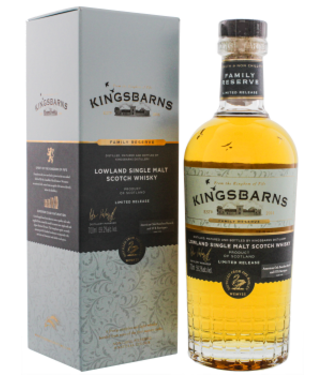 Kingsbarns Kingsbarns Family Reserve Limited Release Lowland Single Malt Whisky 0,7L -GB-