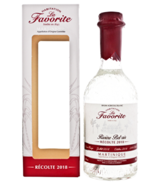 La Favorite La Favorite Rhum Agricole Blanc Riviere Bel Air 2018 0,7L -GB-