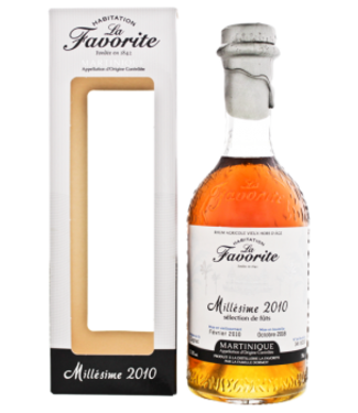La Favorite La Favorite Rhum Agricole Vieux Hors dAge Millesime 2010 0,7L -GB-