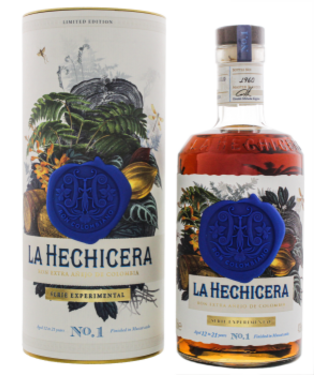 La Hechicera La Hechicera Rum Extra Anejo Muscat Cask Finish Serie Experimental No. 1 Limited Edition 0,7L -GB-