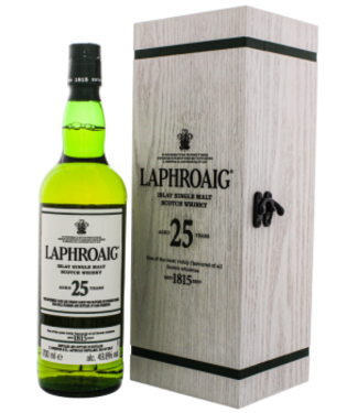 Laphroaig Laphroaig 25YO 2020 Cask Strength Islay Single Malt Scotch Whisky 0,7L -GB-
