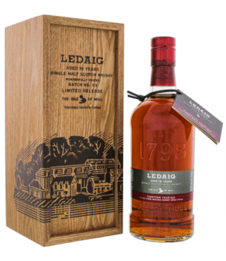 Ledaig Ledaig 18YO Batch No. 3 Limited Release Single Malt Scotch Whisky 0,75L -Wood GB-