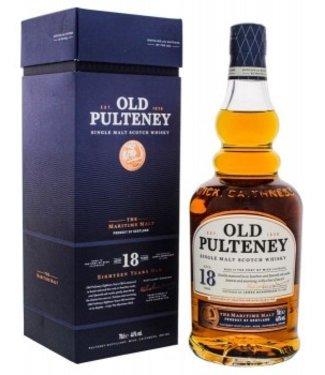 Old Pulteney Old Pulteney 18YO Single Malt Scotch Whisky 0,7L -GB-