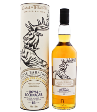 Royal Lochnagar Royal Lochnagar 12YO Game of Thrones House Baratheon Ours is the Fury 0,7L -GB-