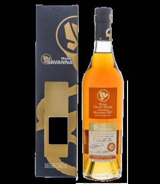 Savanna Savanna Rhum Vieux Grand Arome Single Cask 11YO 2007/2019 Limited Edition 0,5L -GB- Cognac Wood
