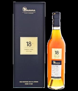 Savanna Savanna Rhum Vieux Traditionnel Single Cask 18YO 1999/2018 0,5L -GB- Cognac Wood