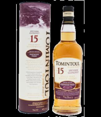 Tomintoul Tomintoul 15YO Portwood Finish Single Malt Scotch Whisky Limited Edition 0,7L -GB-