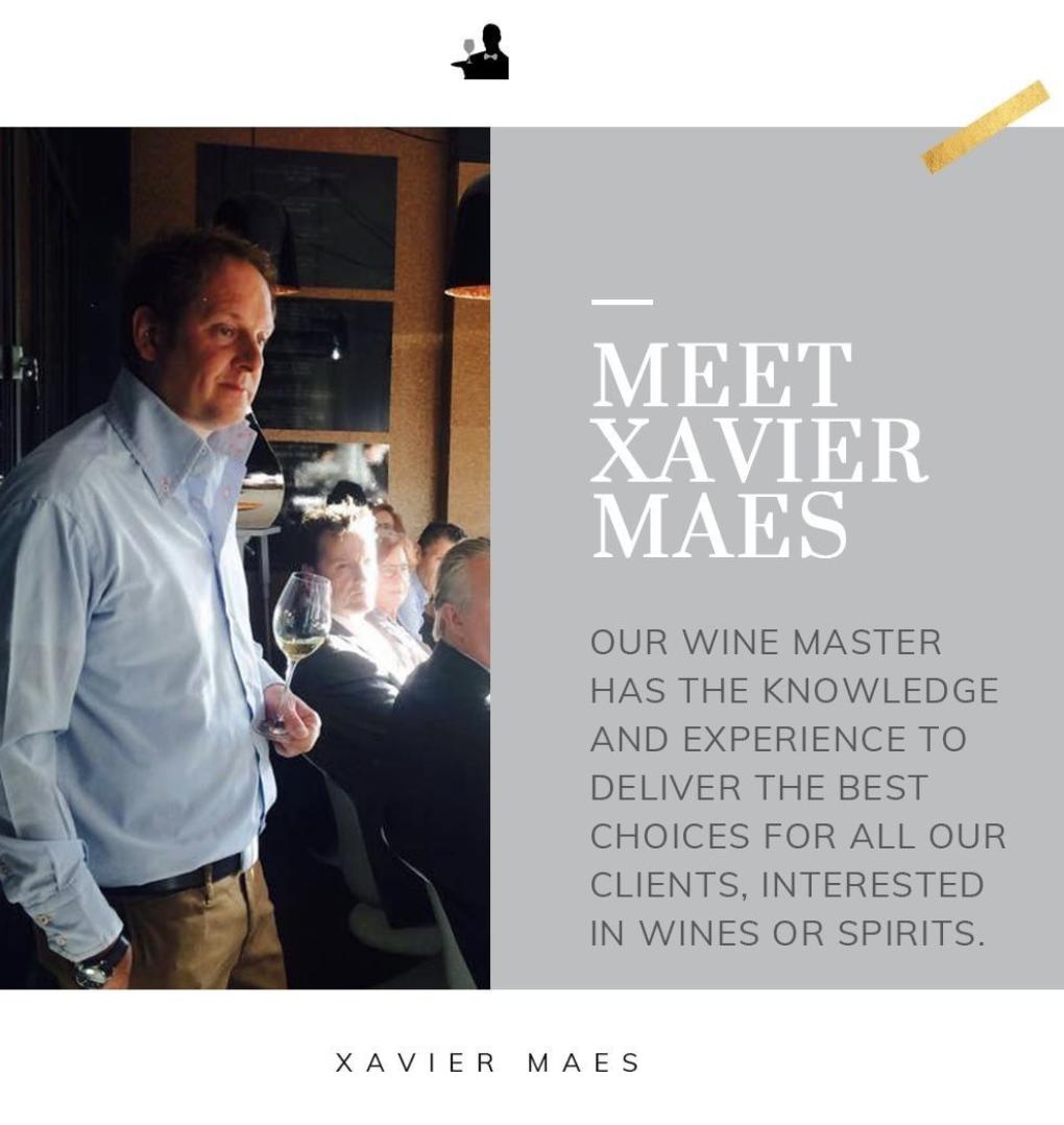 Xavier Maes Luxurious Drinks Wine Specialist