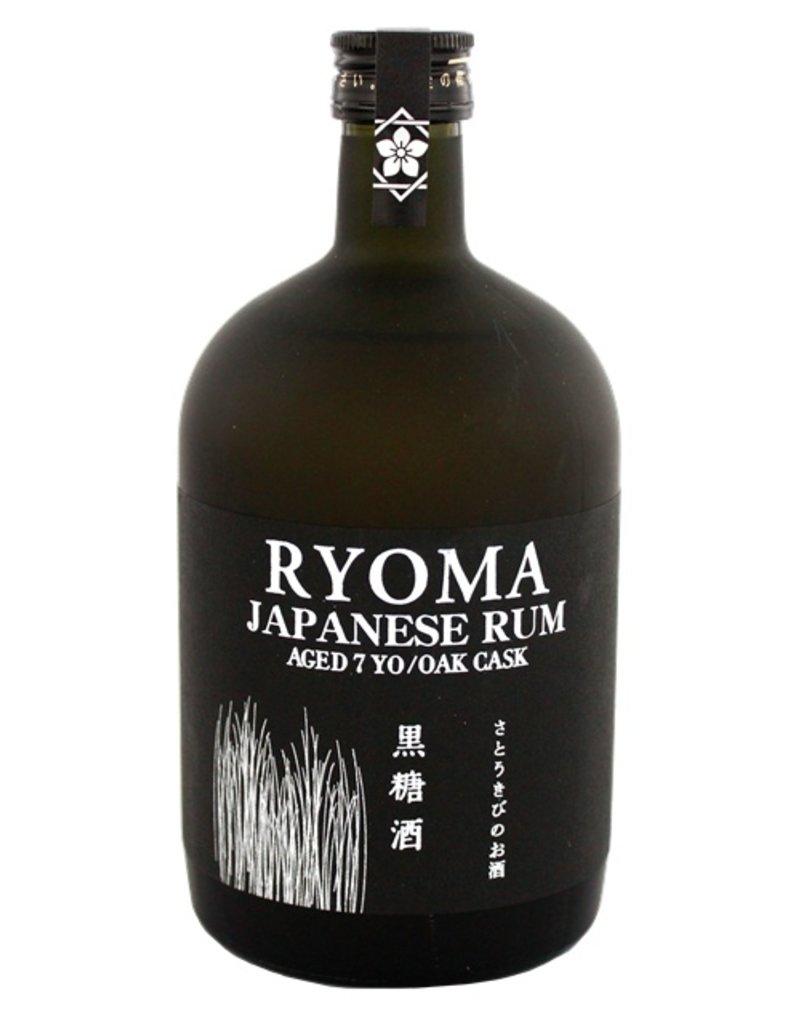 Ryoma 7 Years Old Japanese Rum 700ml Gift Box