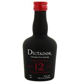 Dictador Dictador Solera 12 Years Old Ultra Premium Reserve Miniatures 50ml