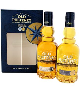 Old Pulteney Old Pulteney Twinpack  12 Years Old 17 Years Old  2x0,35L