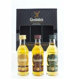 Glenfiddich Glenfiddich Cask Colletction Miniatures 3x50ml Gift Box