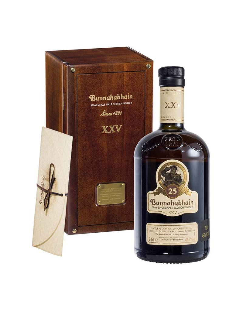 Bunnahabhain 25 Years Old 700ml Gift Box
