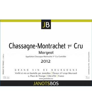 JanotsBos 2012 Chassagne Montrachet 1er Cru Morgeot Janotsbos 75cl