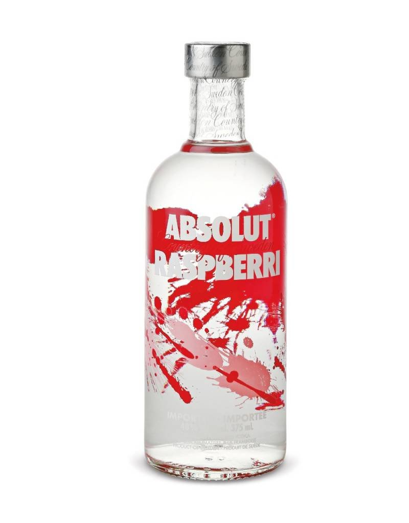 Absolut Absolut Vodka Raspberri 1,0L 40,0% Alcohol