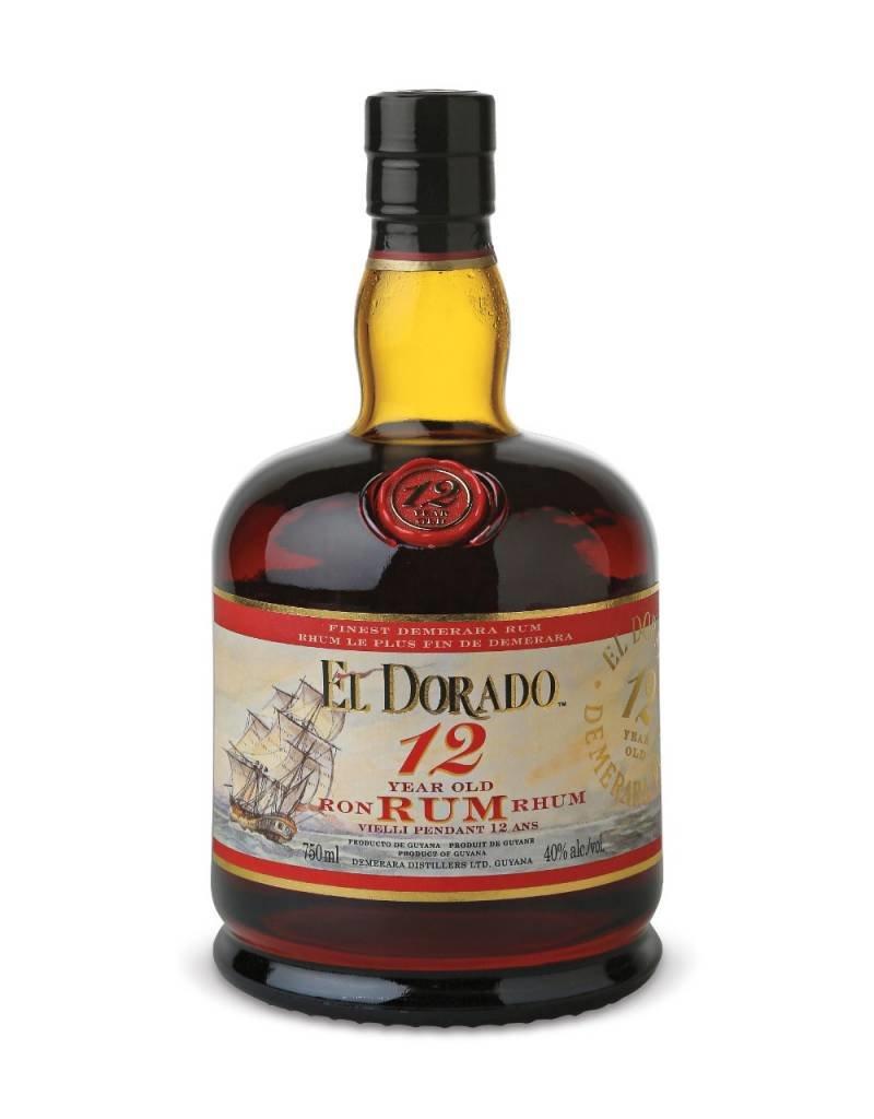 El Dorado El Dorado Rum 12 Years Old 700ml Gift box