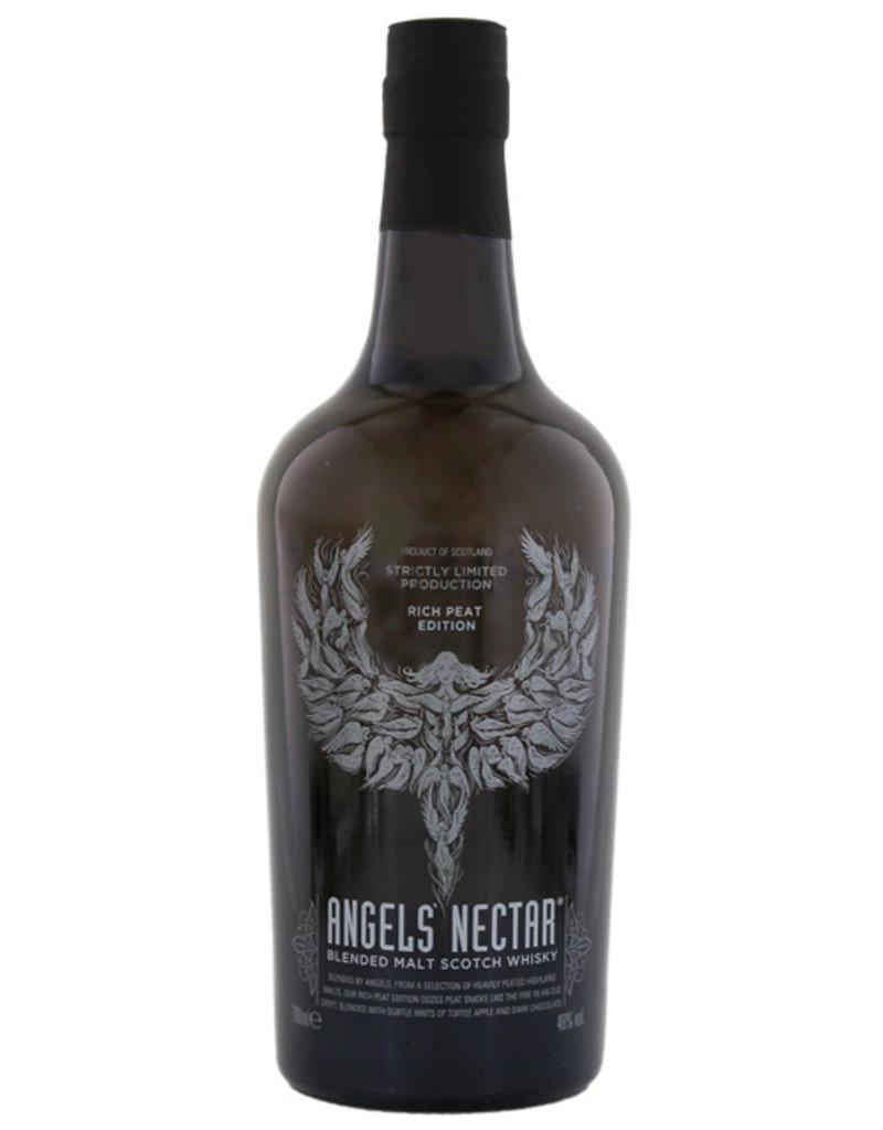 Angels' Nectar Blended Malt Whisky Rich Peat Edition 0,7L