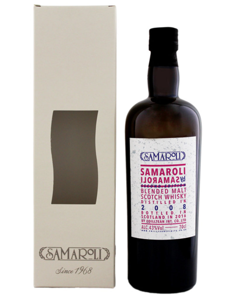 Samaroli by Samaroli Second Edition 2008/2016 Blended Malt Scotch Whisky 0,7L -GB-