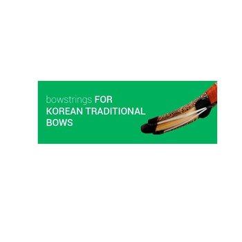 """Flex String for Korean Bow 53"""" white"""