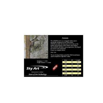 SkyArt Archery. Axiom mit Naturfeder