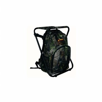 Aurora OUTDOOR BACKPACK + STOOL CAMO