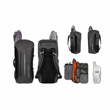 Easton DELUXE RECURVE BACKPACK CHARCOAL GREY