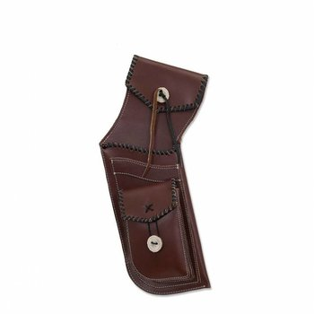 Buck Trail PRIME BROWN LEATHER WITH FRONT POCKET 44cm