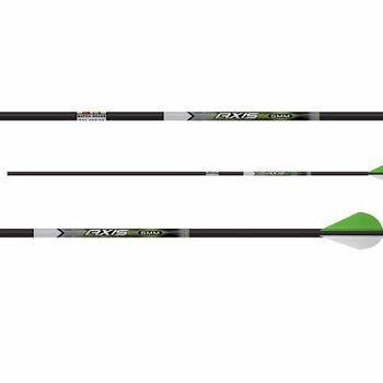 "Easton CARBON AXIS 5MM PRO X-NOCK WITH HIT INSERT AND 2"" BLAZER VANES"