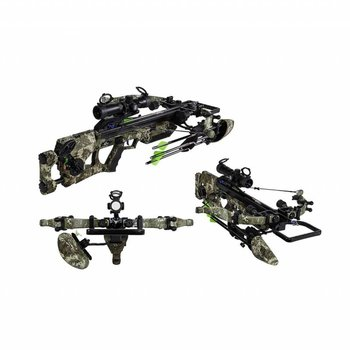 Excalibur ASSASSIN 360 TIMBER STRATA CAMO 285LBS TACTZONE SCOPE