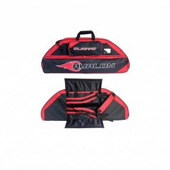 Avalon CLASSIC 126 CM WITH 2 POCKETS BLACK/RED