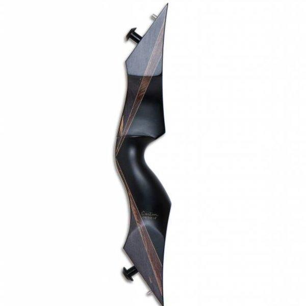 Predator CUSTOM BLACK PHENOLIC WITH CHARCOAL FUTUREWOOD RH