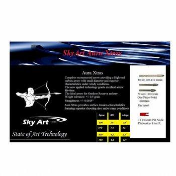 SkyArt Archery. Aura X-Tras. Carbon