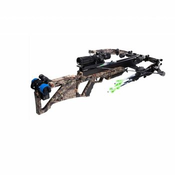 Excalibur MATRIX BULLDOG 440 CAMO 300LBS TACTZONE SCOPE w/ CHARGER EXT