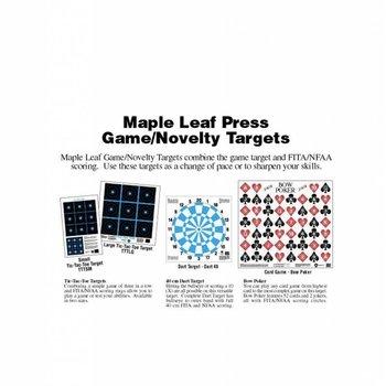 Maple Leaf Game Targets  New Wave