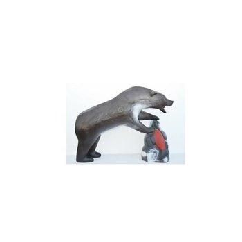 Leitold 3D-Ziel Grizzlybär mit Beute
